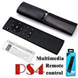 SUNKY - PS4 / PS4 Slim Pro Multimedia Remote Control, 2.4Ghz Wireless Media Remote Controller with USB Receiver for Sony Playstation 4 PS4 Slim Pro Gaming Console Black(Battery is not included)