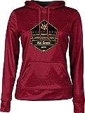ProSphere Girls' Hat Creek Volunteer Fire Department Heather Hoodie Sweatshirt (Apparel)