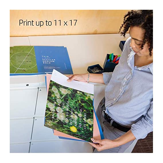 Hp-Desk Jets G5J38A B1H Officejet Pro 7740 Wide Format All-In-One Color Printer With Duplex Printing