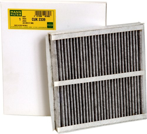 Mann-Filter CUK 2339 Cabin Filter With Activated Charcoal for select  BMW models
