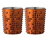 Search : Nachtmann 100054 Punk Whiskey Tumbler, Copper (2 Pack)