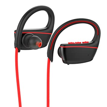 GEZICHTA Auriculares inalámbricos, Auriculares Bluetooth, IPX7 Profesionales, Impermeables, Auriculares para iPhone,