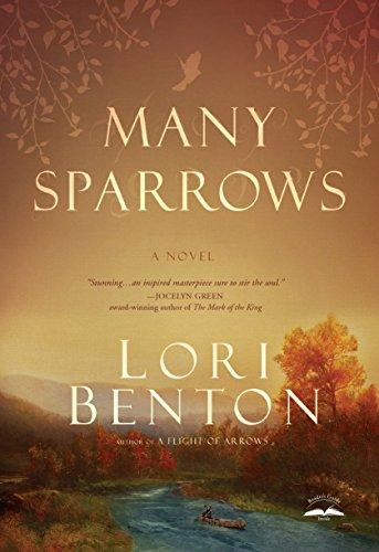 Hand Stitched Felt - Many Sparrows: A Novel