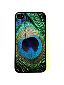 CellPowerCasesTM Peacock Feather iPhone 4 Case - Fits iPhone 4 and iPhone 4S