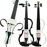 Leeche Handmade Professional Solid Wood Electric Cello 4/4 Full Size Silent Electric Cello-1801