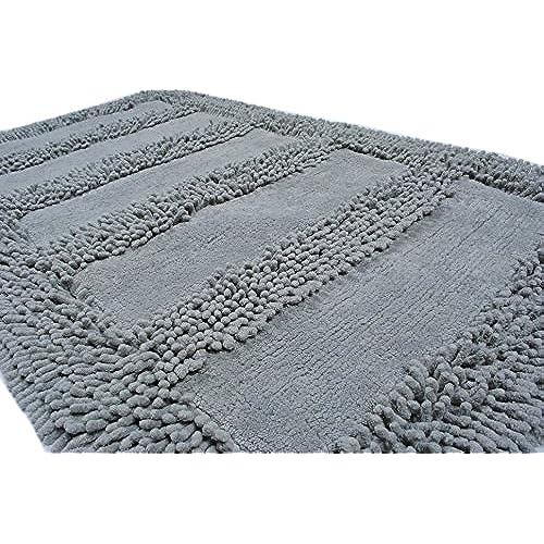 large bathroom rugs. Trendsetter Homez Anti Skid Bath Rug Set  Neo Avenue Of 2 Large And Extra Size 20 X30 23 X39 Grey Extra Large Rugs Amazon Com