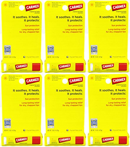 carmex-original-lip-balm-sunscreen-stick-spf-15-015-oz-pack-of-6