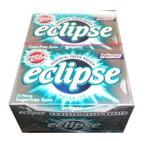 New Triple Action Eclipse Polar Ice, 12-12 Piece Packs -(144 Pieces Per Box!)