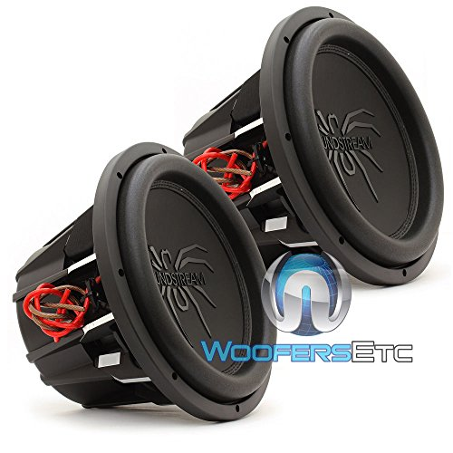 Pair of Soundstream T5.124 12″ 1000W RMS 2000W Max (Each) Dual 4-Ohm Subwoofers