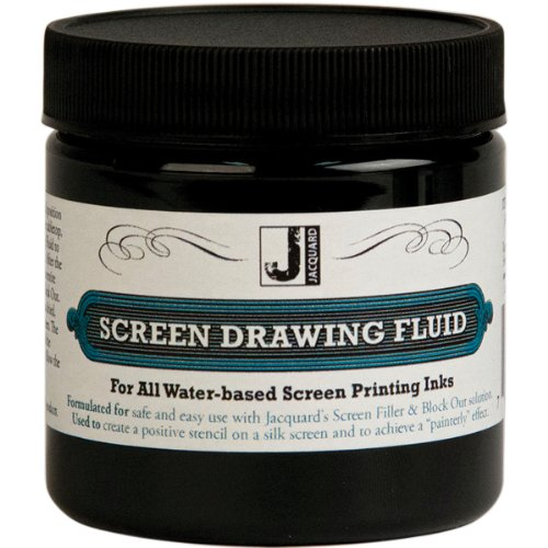 Jacquard I-dye Fabric Dye (Jacquard Screen Printing Drawing Fluid 4 Ounces)