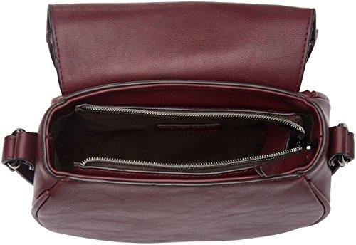Bata 9615192, Borsa a Tracolla Donna, Rosso (Burgundy), 11 x 21 x 24 cm (W x H x L)