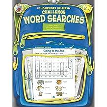 Challenge Word Searches, Grades K - 1 (Homework Helper)