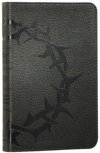 Deluxe Compact Bible-ESV-Crown Design