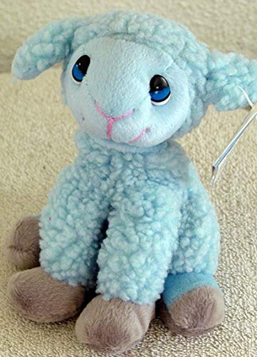 Precious Moments Pals Simon The Blue Lamb Beanie Plush -