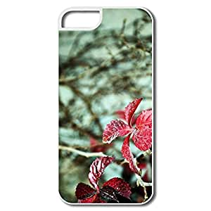 Sports Red Leaves IPhone 5/5s IPhone 5 5s Case For Family