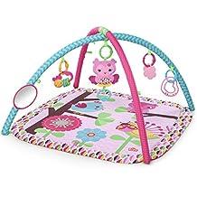 Gimnasio de actividades color rosa Charming Chirps de Bright Starts