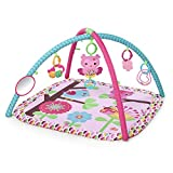 Baby : Bright Starts Charming Chirps Activity Gym, Pretty In Pink