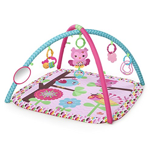 ng Chirps Activity Gym, Pretty In Pink (Plush Activity Playmat)