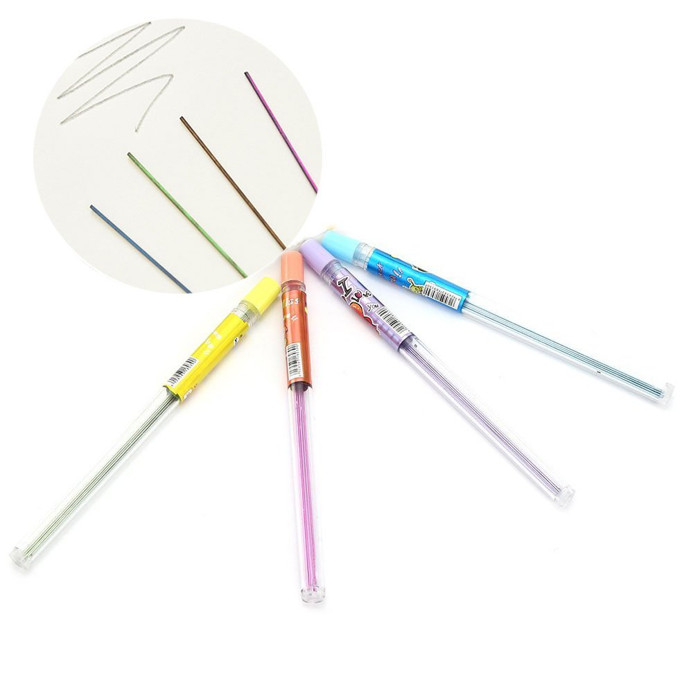 0.5 MM機械鉛筆Leadsにカラーコーティングをon / 10パック B079GV6NSS