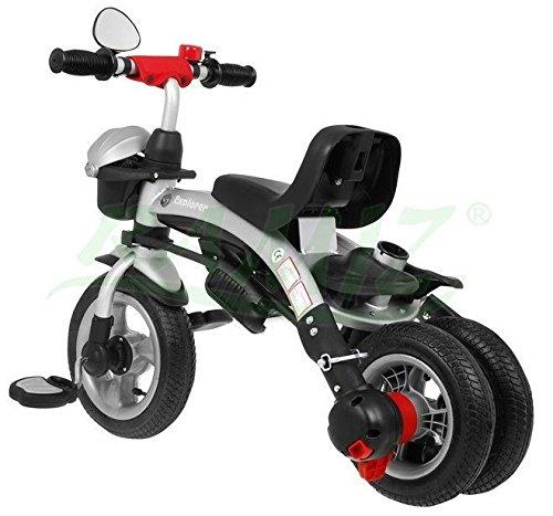 SporTrike Explorer Air 3In1 Triciclo evolutivo para niño - Rojo: Amazon.es: Juguetes y juegos