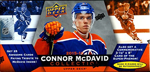 Upper Deck Connor McDavid Box Set