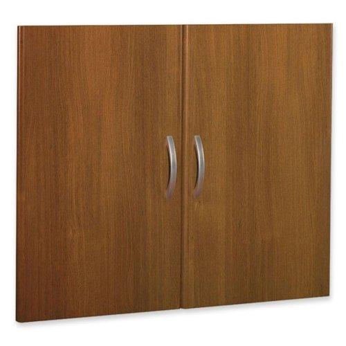 Door Height Half Kit (Bush Half Height Door Kit with 2 Doors, 35-Inch by 3/4-Inch by 29-Inch, Warm Oak)