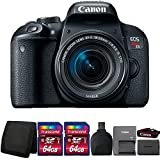 Canon EOS Rebel T7i Digital SLR Camera with 18-55mm IS STM Lens and Accessory Bundle Review