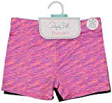 Rene Rofe Girls Active Playground School Uniform Dance Under Skirt Play Shorts (2 Pack)