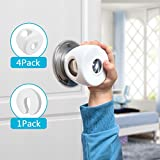 4-Pack Door Knob Covers for Kids, Baby Safety