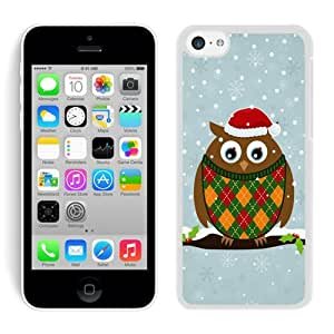 Popular Sell Design Iphone 5C TPU Case Christmas Owls White iPhone 5C Case 2