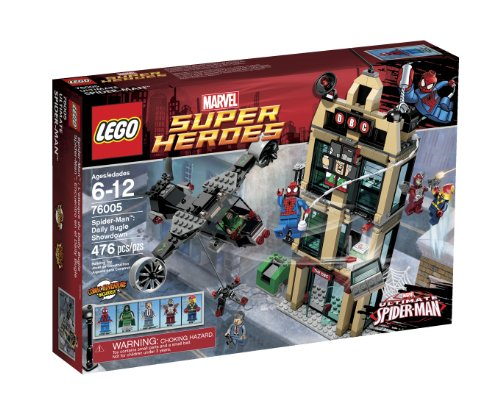 [LEGO Super Heroes Daily Bugle Showdown 76005] (Superheros And Villians)