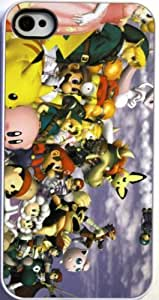 (339wi4) Super Smash Brothers Apple iPhone 4 / 4S White Case by icecream design