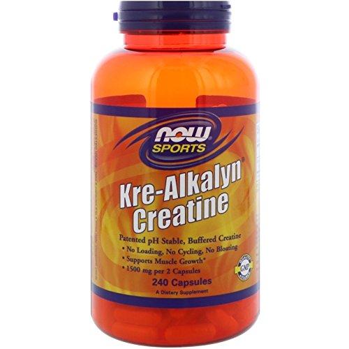 Now Foods Kre-Alkalyn® Creatine - 240 Capsules