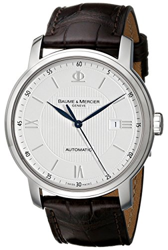Baume-Mercier-Mens-8731-Classima-Automatic-Strap-Watch
