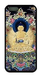Buddha Theme Iphone 5 5S Case TPU Material wangjiang maoyi