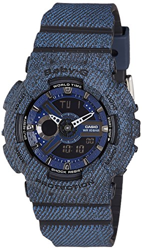 Casio Womens Baby-G BA110DC-2A1 Analog-Digital Casual Quartz Watch