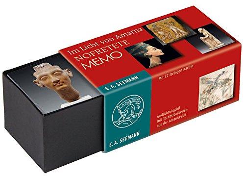Im Licht von Amarna. Nofretete Memo: Gedächtnisspiel mit 36 Kostbarkeiten aus der Amarna-Zeit