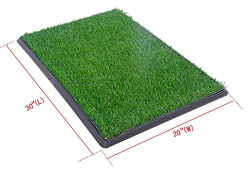 New Large Pet Potty Patch Pet Park Mat Dog Indoor Outdoor Home Training Pee Pads from Unknown