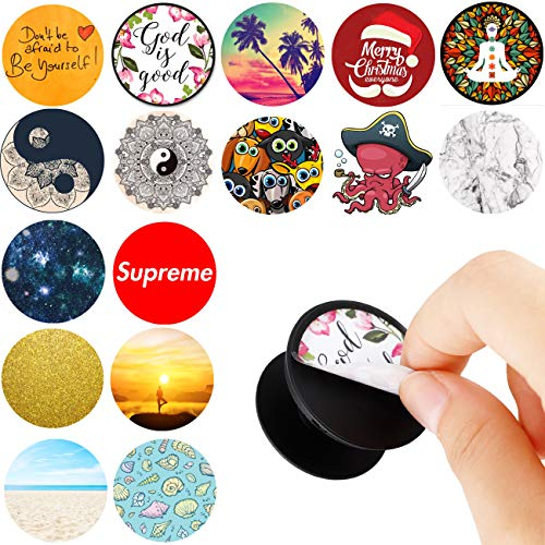 - Pack of 16 Easy To Change Stickers for Pop Mount Holder Socket