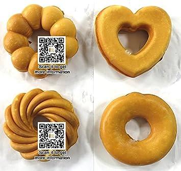 Yoli® 4 en 1 comercial Manual Máquina de Donut, Donut de Acero Inoxidable Eléctrica
