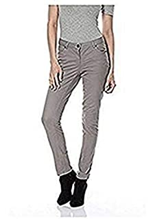 Aniston Hose Destroyed Jeans Damen Kurzgröße Denim Weiß  Amazon.de ... 532654a073