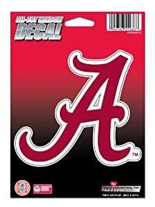 NCAA Alabama Crimson Tide Die Cut Vinyl Decal with Backing