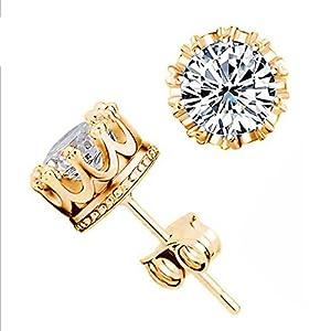 Hemlock Women Ladies 925 Silver Plated Earrings Jewelry Ear Stud