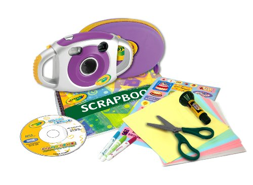 Crayola 2.1 MP Digital Camera Scrapbooking Kit