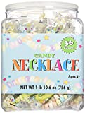 CANDY NECKLACE 36 count Tub,net wt 1 lb(10.6 oz)