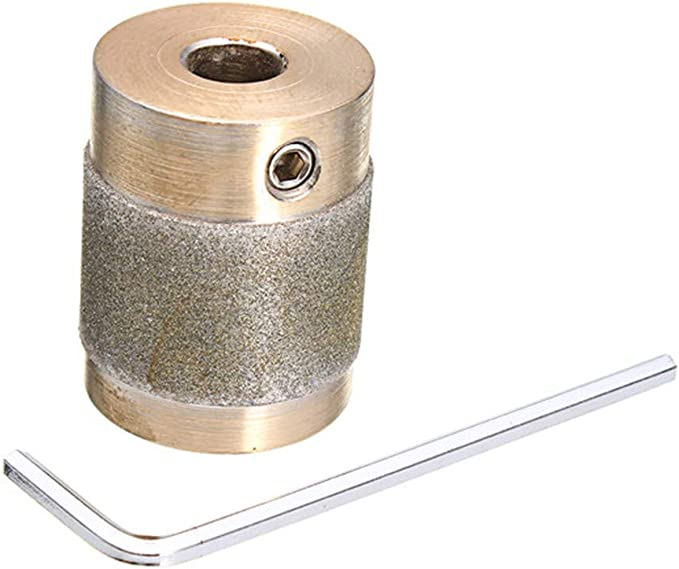 2pcs Stained Glass Grinder Head Bit Diamond Grinding Wheel for Tile 2 Sizes
