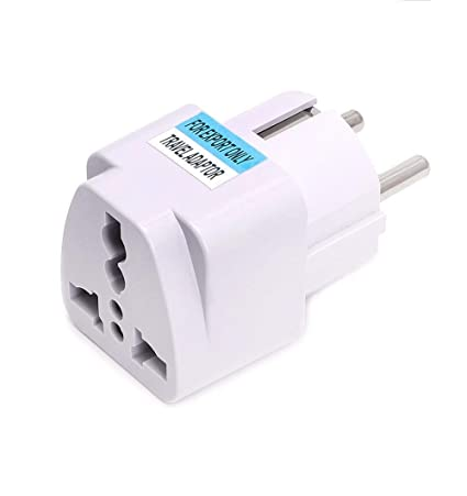 1e9f5db8190 1PC Universal US UK AU to EU Plug USA to Euro Europe Travel Wall AC Power  Charger Outlet Adapter Converter Portable - - Amazon.com