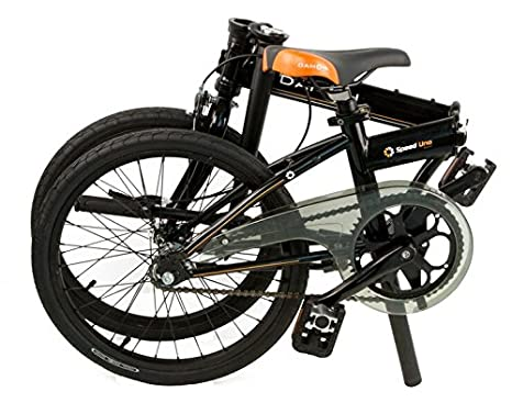 Dahon Jifo bicicleta plegable para adulto, Shiny Black, talla 16: Amazon.es: Deportes y aire libre