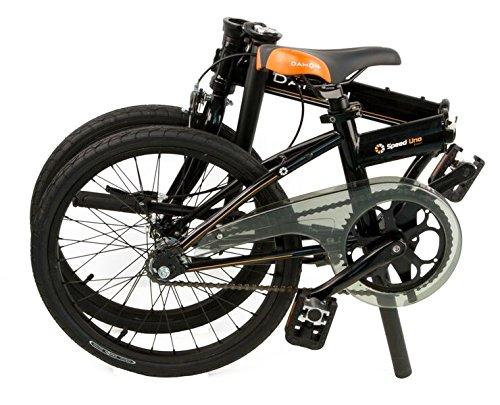 Dahon Speed uno bicicleta plegable para adulto, Obsidian, talla 20: Amazon.es: Deportes y aire libre