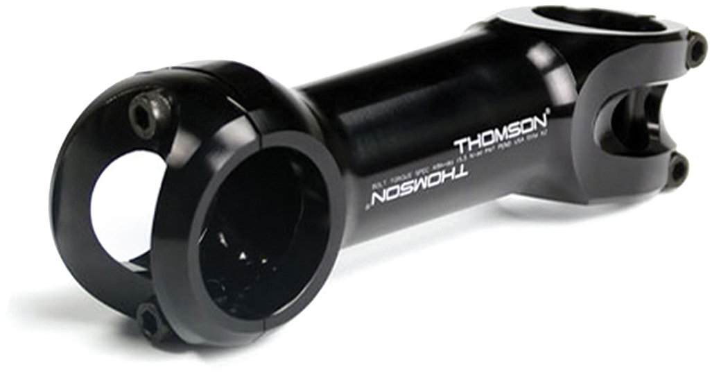"//-17° 1-1//8/"" Road Stem Black Thomson Elite X2 100 x 31.8mm"